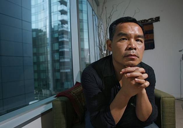 Andrew Lam, photographed by Kirsten Aguilar, The Chronicle / SF