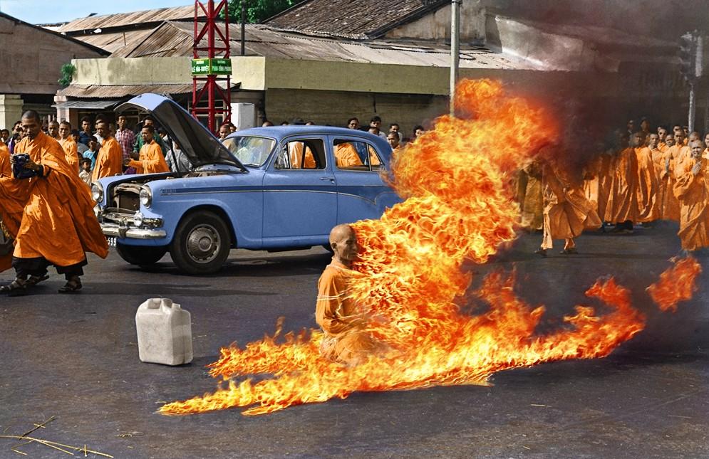 Quảng Đức, Bà Đặng Thị Kim Liêng, and Self-Immolation