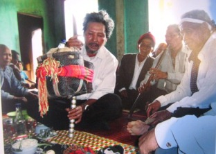 "The ethnic minority Van Kieu's ""ghost calling festival of Bru"""