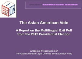 AALDEF's 2012 Presidential Election Exit Poll