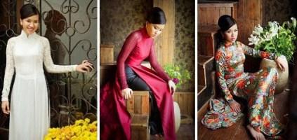 Le Thanh Phuong's ao dai designs