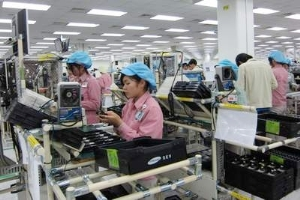 Samsung factory in Vietnam