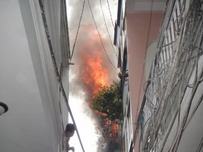 House fire in HCMC