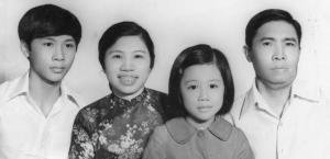 The Pham family in 1974