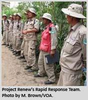 Project Renew's Rapid Response Team.