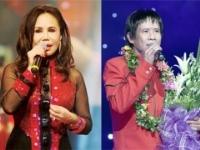 Singers Thanh Tuyen and Tuan-Vu