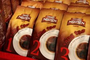 Trung Nguyen brand coffee