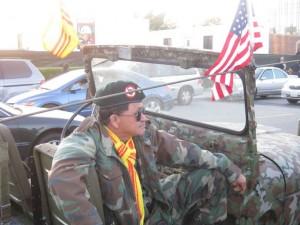 Veteran at the 35th anniversary