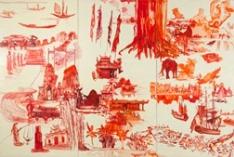 Jane Irish's 'Yellow and Red'