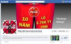 Vietnamese boycott Coca-Cola