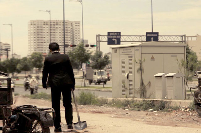 A scene from the film One Day - Photo from ViFF website.