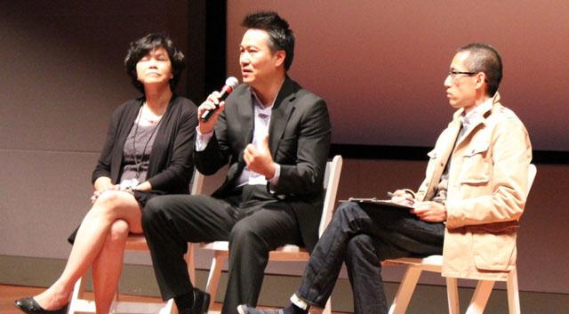 Trao đổi với đạo diễn Nguyễn Trọng Khoa về phim Instant Noodle sau buổi chiếu phim tại Đại Hội Điện Ảnh Việt Nam Quốc Tế lần 6, tháng 4 năm 2013.