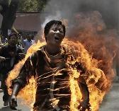 Tibetan self-immolation