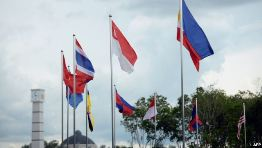 ASEAN member flags