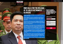 Reporters Without Borders petitions