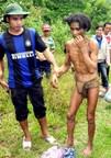 Man found living in jungle