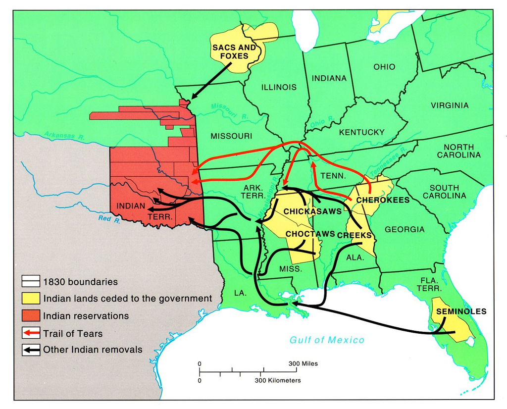 Indian Policy Removal To Reservations Lessons Tes Teach - Map of native american reservations in the us