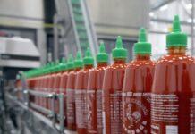 Sriracha chili sauce production line