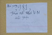 Suicide note protesting China's occupation