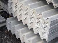 Asbestos-made material