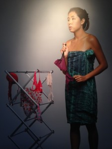 "Nadia Kusmajadi's ""Acculturation, Laundry Rack"""