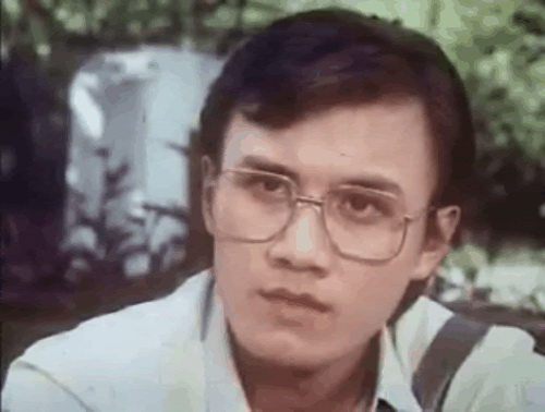 The late Le Cong Tuan Anh playing Quang Don Quixote, a talented, idealistic, doctor and romantic lover in the same movie. Anh, who committed suicide in October   1996 at the age of 29, was one of Vietnam's biggest stars of the 1900's.