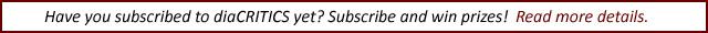 Subscribe to diaCRITICS.org