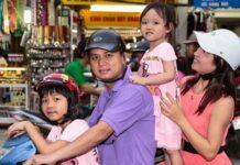 Vietnamese family changing