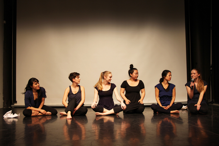 Project Agent Orange at Asian American Arts Initiative in Philadelphia, talkback with Nancy Nguyen.