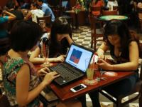 Online users in Hanoi