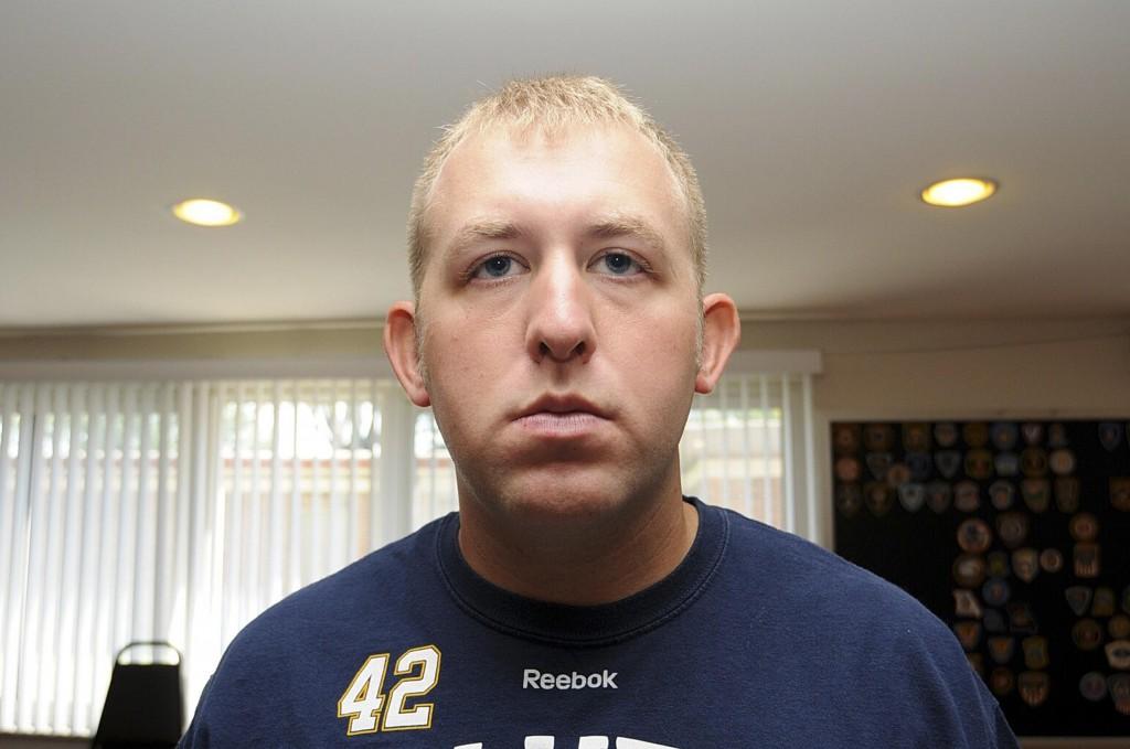 Police officer Darren Wilson