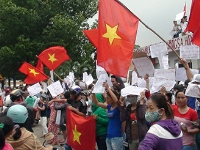 Anti-China protest