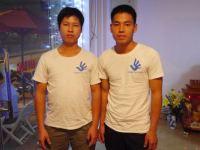 Brothers Trinh Ba Phuong and Trinh Ba Tu