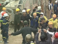 Rescued workers