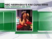 Cung Kim wins Miss Nebraska