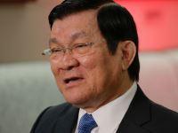 Vietnamese President Truong Tan San
