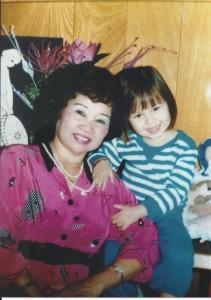 My bà ngoại and me
