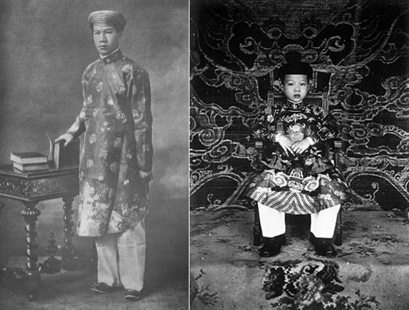 (Bao Dai, the last emperor of Vietnam)