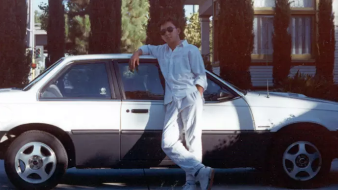 As a teenager in 1987.