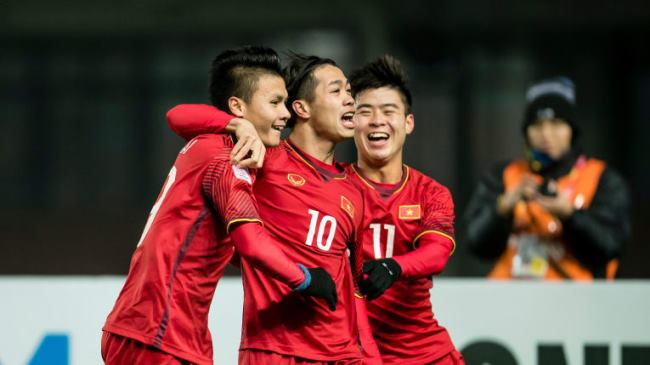 Vietnam's players at U23