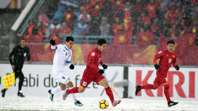 Vietnam in 2018 AFC U23
