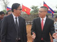 Pan Sorasak and Vu Quang Minh