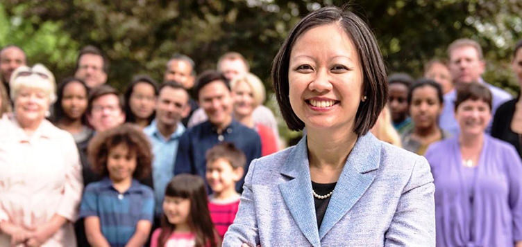 Kathy Tran, Virginia's first Vietnamese American elected official, is one of several new female delegates and senators that plan to change the makeup of Virginia's General Assembly.