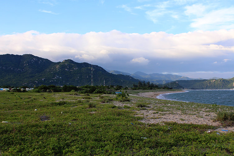 Cancelled nuclear power plant site in Southern Vietnam