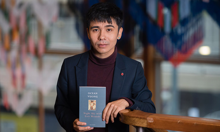 "TS Eliot prize goes to Ocean Vuong's debut collection ""Night Sky With Exit Wounds"""