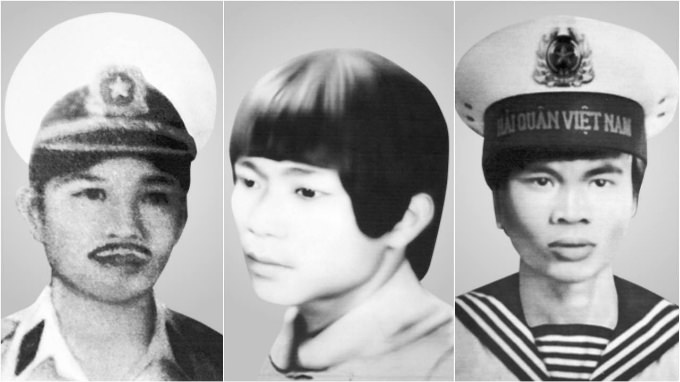 families of soldiers still search for their sons' remains Spratly reefs