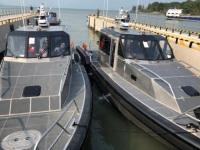 U.S. patrol boats