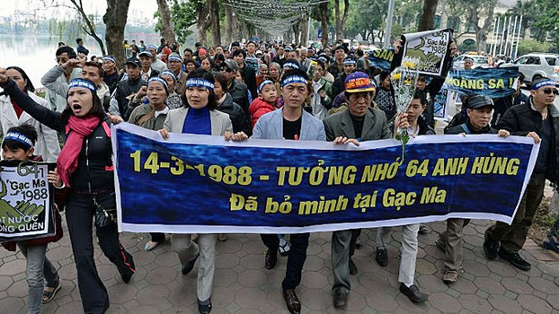 Anti-China-demonstrators