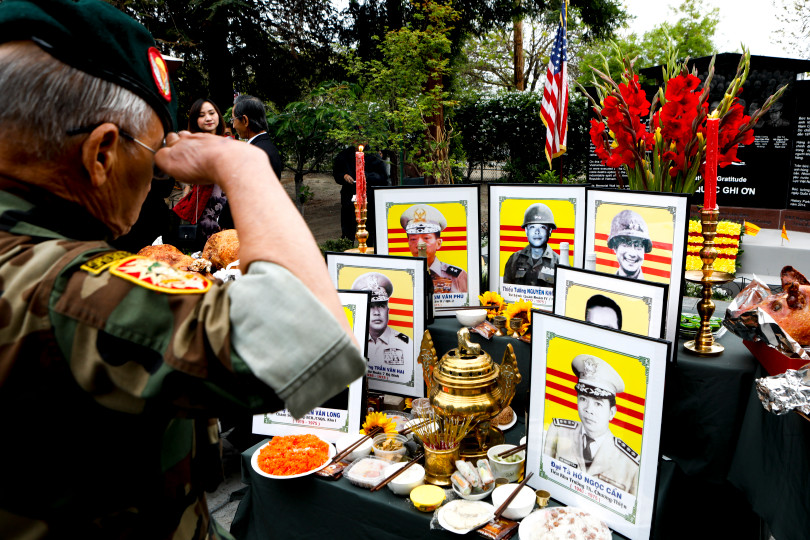 Observance for the 43rd anniversary of the Fall of Saigon