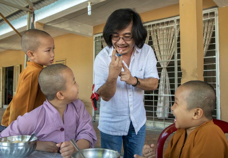 VNHelp Program's Phi Nguyen